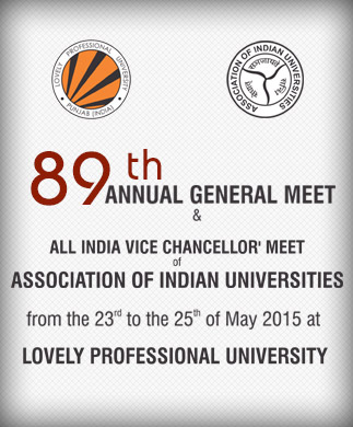 AIU 89th AGM & All India Vice-Chancellor' Meet