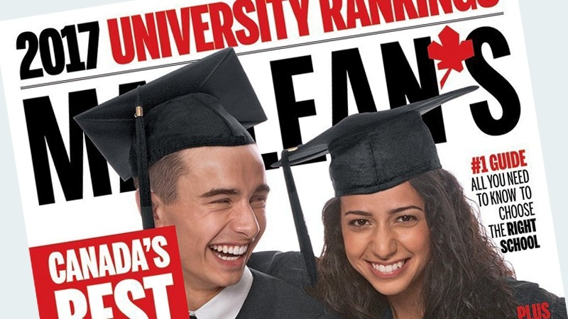 Maclean's releases 2018 university rankings